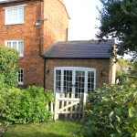 Single storey extension to period property